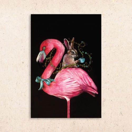Atvirukas Flamingas