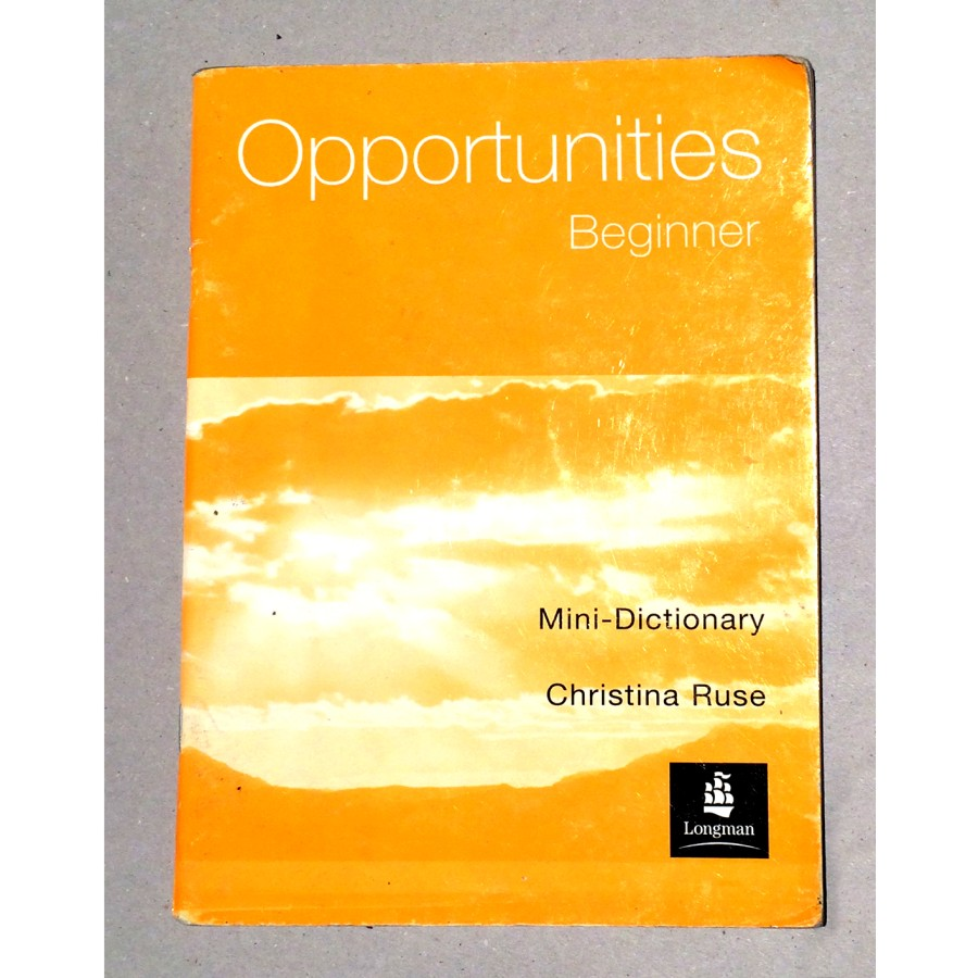 Christina Ruse - Opportunities Beginner
