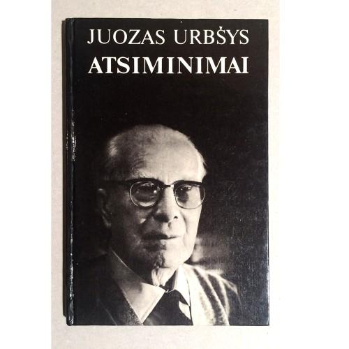Juozas Urbšys - Atsiminimai