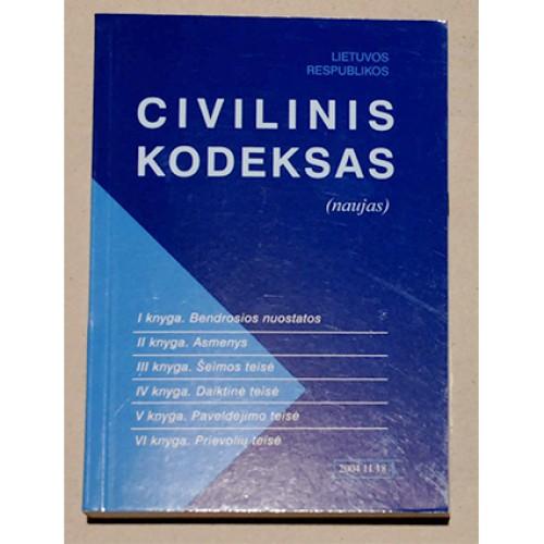 Lietuvos Respublikos Civilinis Kodeksas